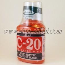 Жидкость для полоскания горла и свежести дыхания С20
