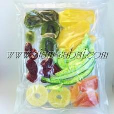 Ломтики тайских фруктов – фруктовый микс