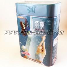 Лишоу капсулы для снижения веса 36 капсул металлический контейнер