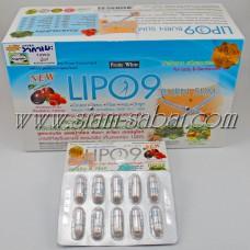 Комплекс для снижения веса на 1 месяц: капсулы сжигатель жира  Lipo 9