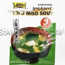 Мисо суп с тофу быстрого приготовления